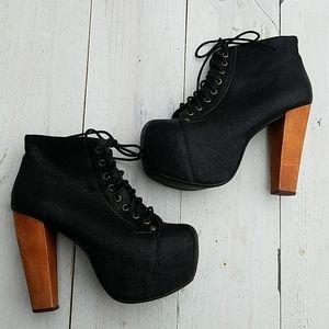 Jeffrey Campbell Lita platform shoes
